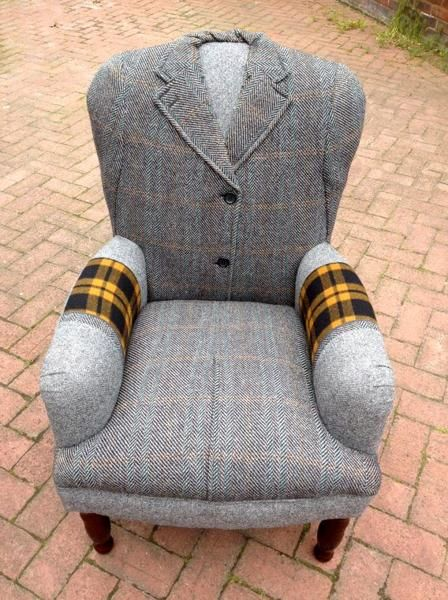 vintage crafts ideas | ... Wool Coats for Unique Furniture in Vintage Style, Craft Ideas