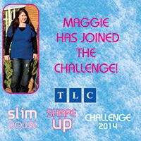 Maggie has joined the Challenge! www.tlcforwellbeing.com