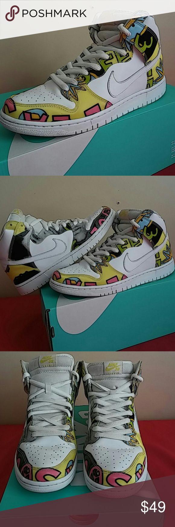 newest d8489 7f10b Nike SB Dunk High Cali Review + On Feet  Nike SB Dunk High DSL QS DE LA  SOUL Size10.5