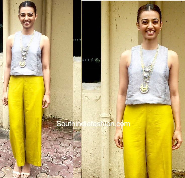 Radhika Apte was recently spotted in a Payal Khandwala outfit for the promotions of Parched the movie.