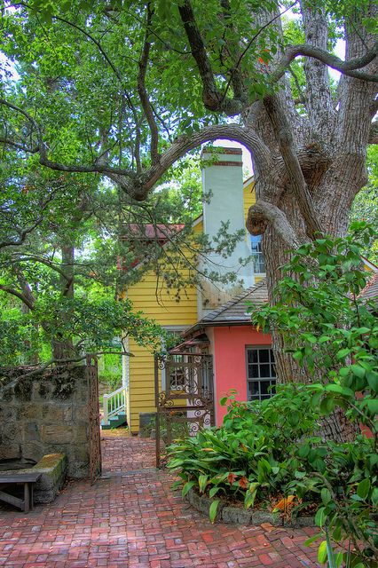Dow Museum Courtyard, St. Augustine, Florida