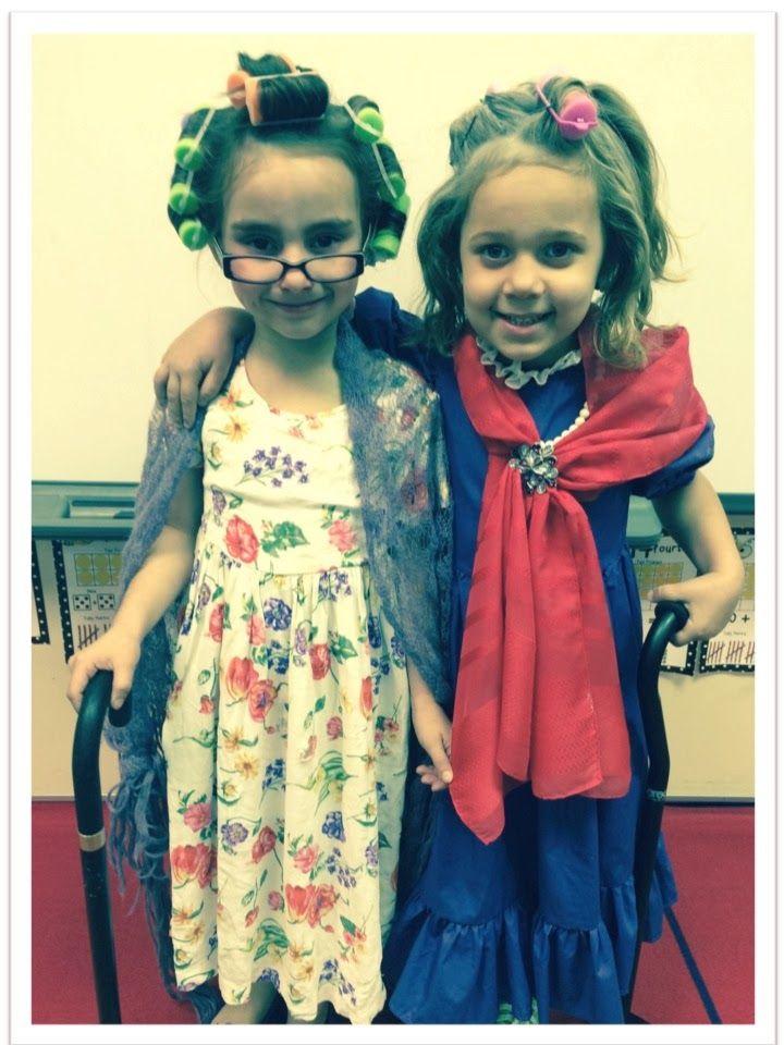 Celebrating 100th day in Kindergarten!!