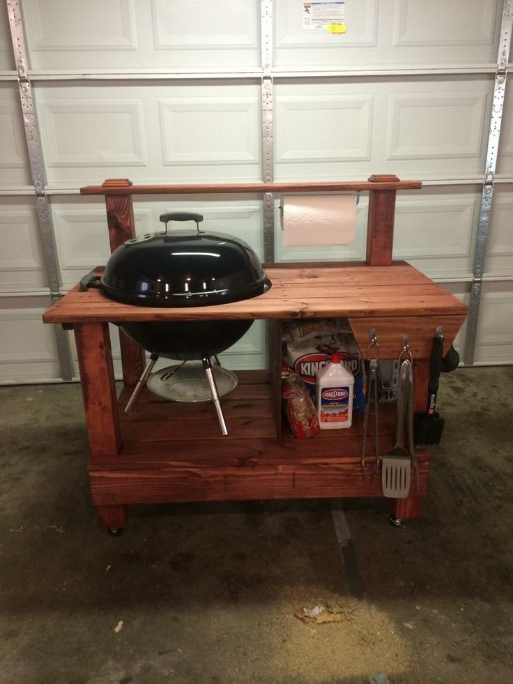 weber grill table