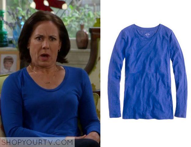 The McCarthys: Season 1 Episode 9 Marjorie's Blue Long Sleeve Top