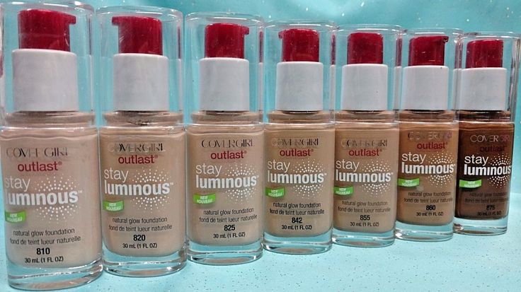COVERGIRL Outlast Stay Luminous Natural Glow Foundation Makeup 1 oz PICK SHADE