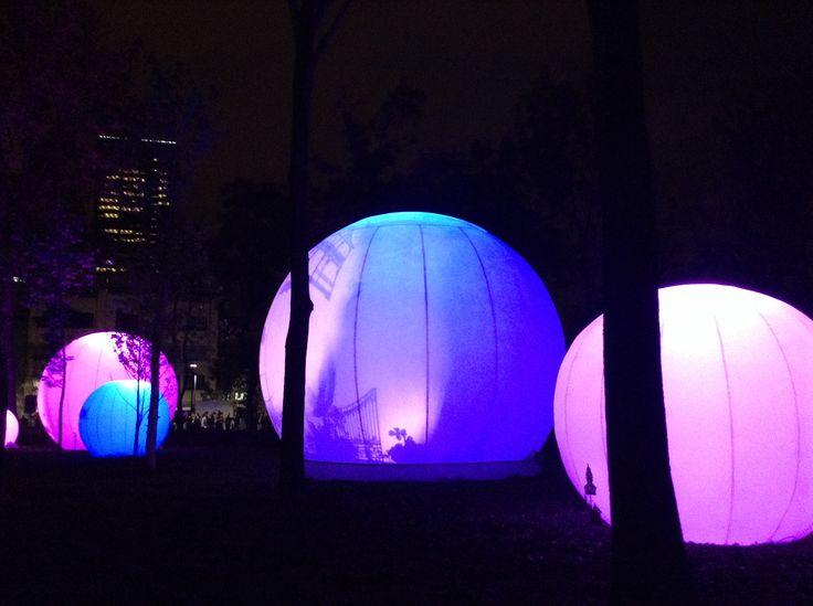 Festival internacional de la Luz, México D.F. - Alameda Central