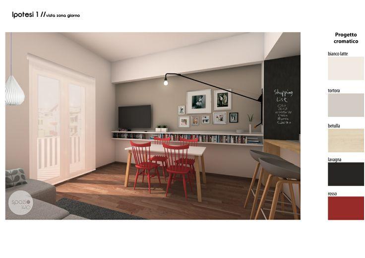 Spazio 14 10 architettura interni low cost roma rob for Mobili low cost roma