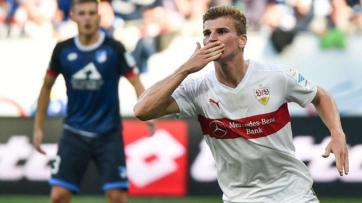Küsschen-Zoff um Stuttgart-Held Timo Werner beim 2:2 in Hoffenheim - Bundesliga Saison 2015/16 http://www.bild.de/sport/fussball/vfb-stuttgart/kuesschen-affaere-um-timo-werner-42880846.bild.html