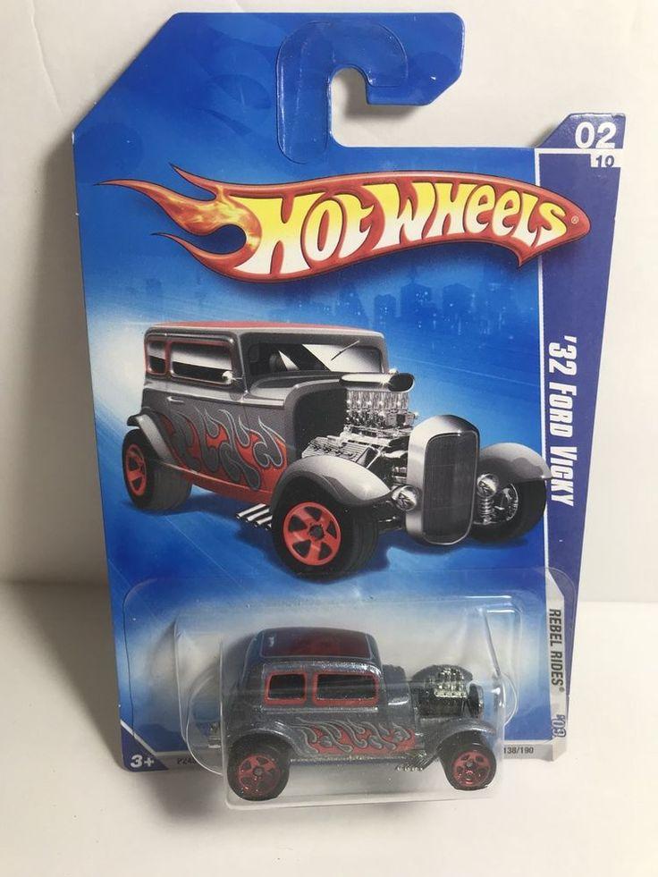 Hot Wheels 2009 Rebel Rides '32 Ford Vicky #02/10 | Toys & Hobbies, Diecast & Toy Vehicles, Cars, Trucks & Vans | eBay!