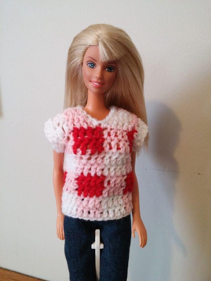 54 besten Tøj til Barbie Bilder auf Pinterest | Barbiekleidung ...
