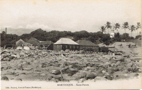 Basse-Pointe - Carte postale, Collection Busson - Date inconnue