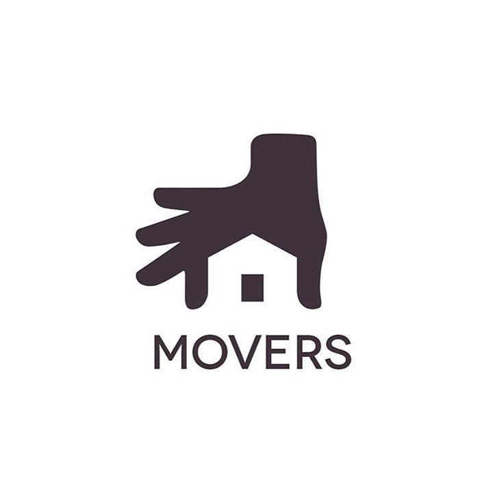 House Logodesign Graphic: Conceptual Logo Design For A House Moving Service. #logo