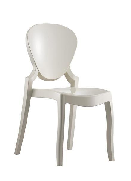 Pedrali Queen, sedia in policarbonato: comprala scontata su OffiQue
