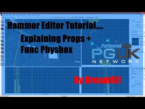 Hammer Editor Tutorial - Explaining Props + Func Physbox