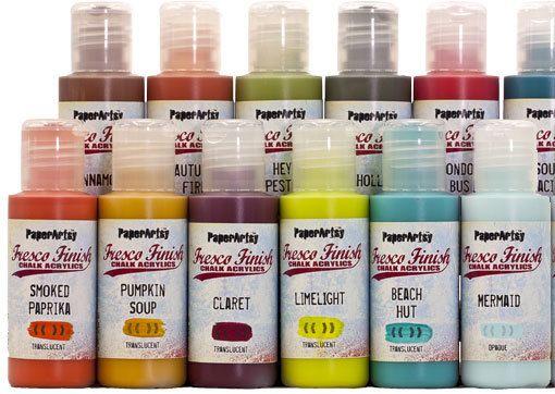 Fresco Finish Paints By Paperartsy New Colors Have Arrived Drink Bottles Bottle Vitamin Water Bottle