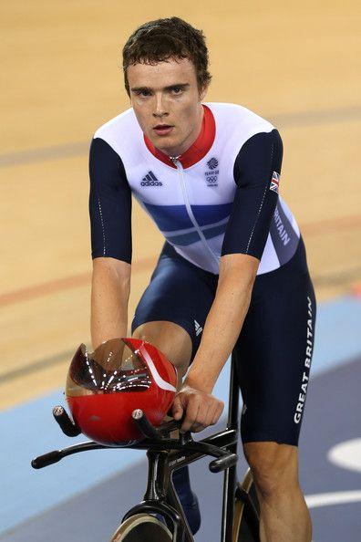 Steven Burke. Olympic Gold Medal Winner (Cycling) 2012.