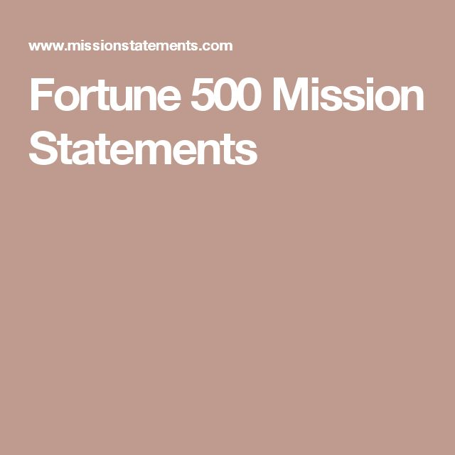 Best  Company Mission Statement Examples Ideas On