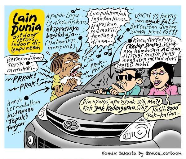 Mice Cartoon, Komik Jakarta - Januari 2015: Lain Dunia