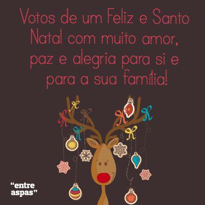 Escolha a sua mensagem de Natal preferida no Entre Aspas e partilhe com a sua família!