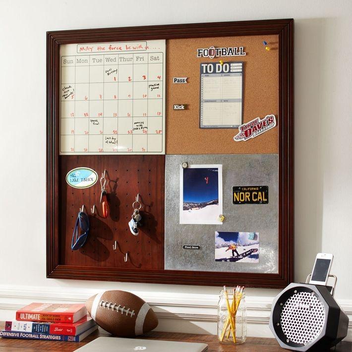 Calendar / bulletin board idea