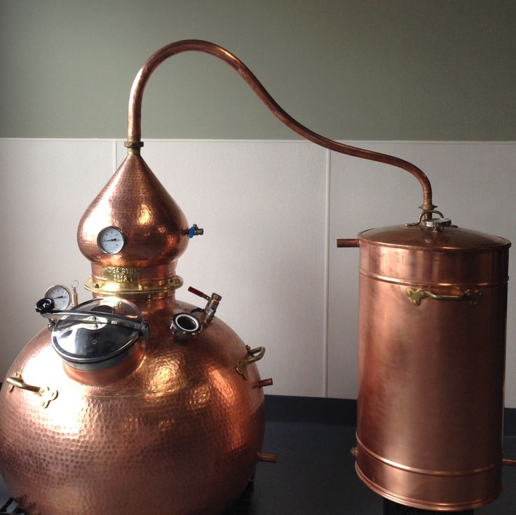 600 Liter Copper Alembic Still The Distillery