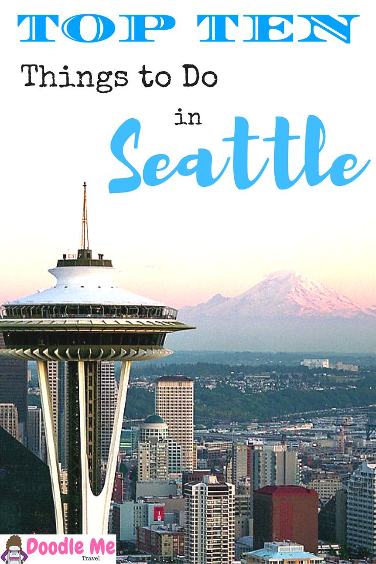 My Top Ten Favorite Things to Do in Seattle. Written and illustrated by a true Seattleite , this guide will help you plan your next trip to Seattle!