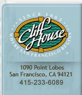Cliff House logo - Since 1863 - Where San Francisco Begins