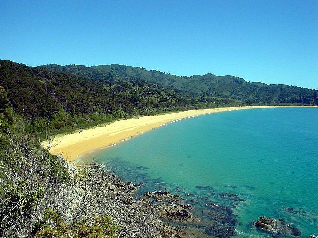 Abel Tasman Coast Track by:  Speckled Jim on Flickr