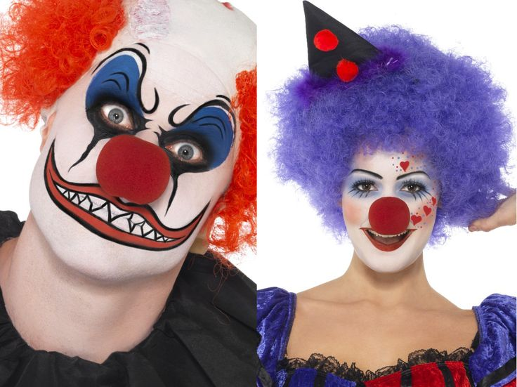 1000 id es sur le th me maquillage clown sur pinterest visages de clown maquillage de clown - Maquillage de clown facile ...