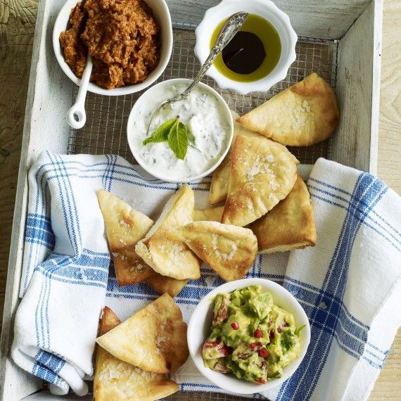 Crispy pitta chips recipe - Woman And Home