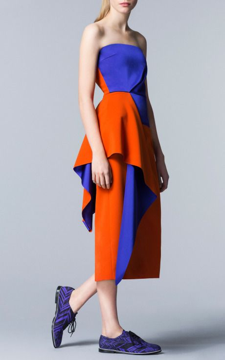 Roksanda Ilincic Pre-Fall 2014 Trunkshow Look 6 on Moda Operandi
