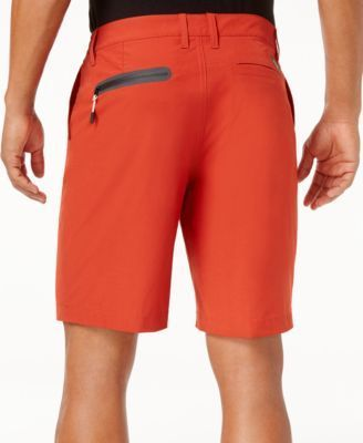 Quiksilver Waterman Men's Vagabond Flat-Front Shorts - Red 34