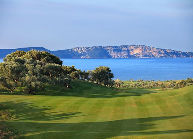 The Bay Golf Course in Costa Navarino, Messinia, Peloponnese, Greece