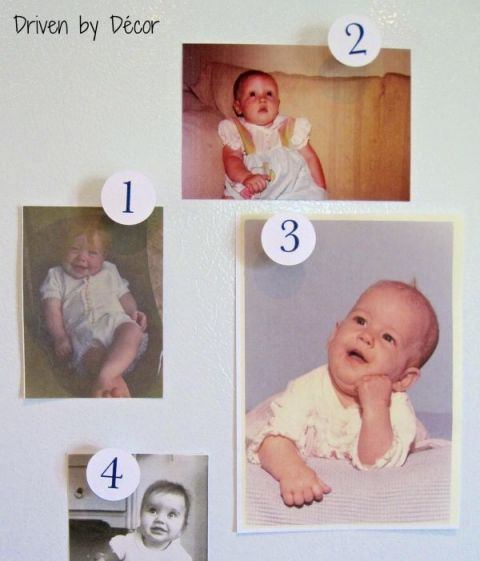 Name that Baby game - so fun for a baby shower!