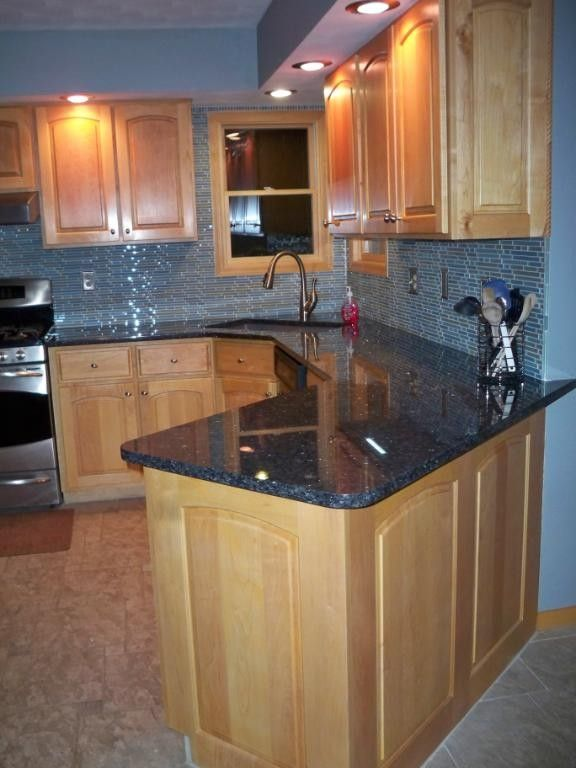 Curved Peninsula Kitchen House Dreams Kitchen Cabinets