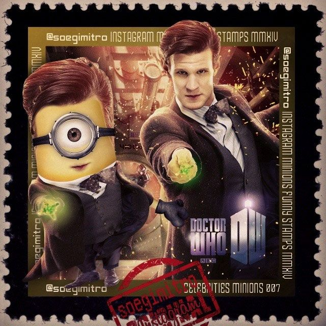 Minion de Matt Smith en Doctor Who