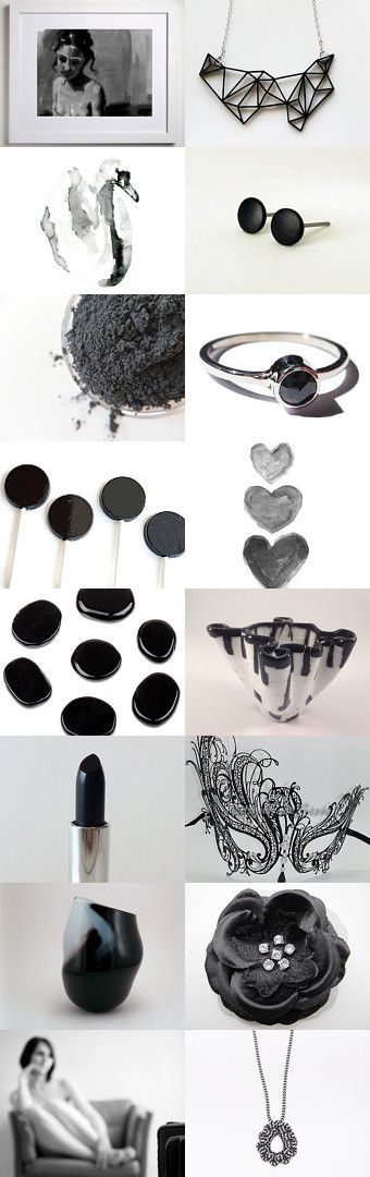 Elegant Greyscale  by Amber Bessette on Etsy--Pinned with TreasuryPin.com