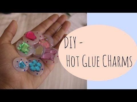 DIY   Hot Glue Charm - YouTube