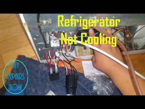 Refrigerator Not Cooling - Refrigerator Compressor Relay - GE GBSC0HCXARWW - Compressor Not Working - Bing video