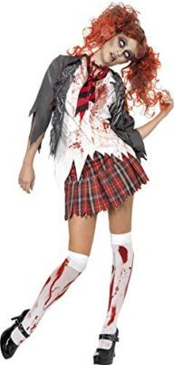 Smiffys Womens High School Horror Zombie Schoolgirl Costume Tag a friend who can pull this off! #Zombie #Halloween #Costume