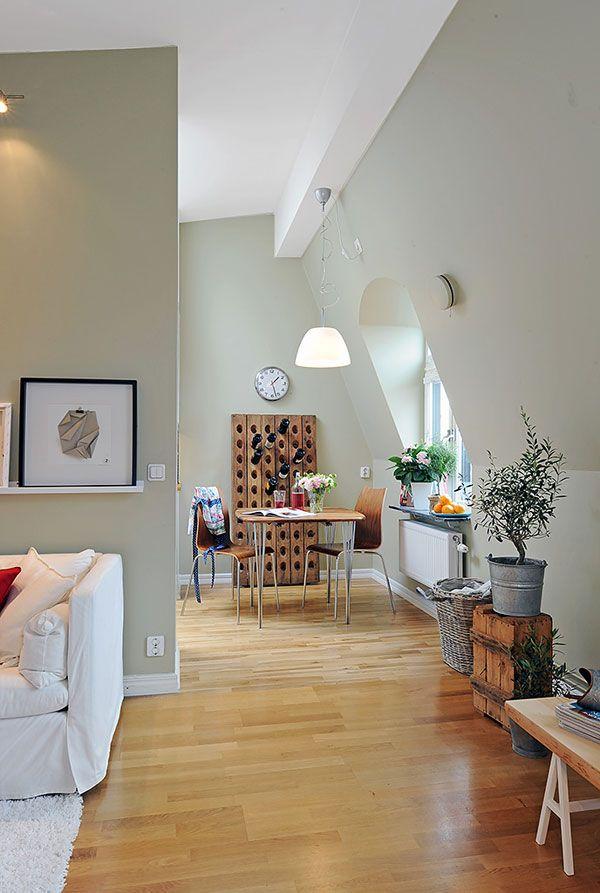 Appartement convivial sous les combles 2