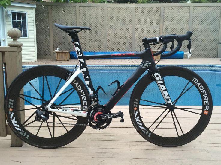 Giant Propel With Aero Bars Google Search Bikes