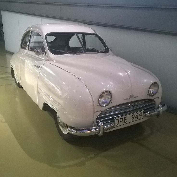 This car is unique. Do you know why? #saab92 #automotivehistory #saabcar #saab #klassiskabilar #saablegend #retrocar #vintage #vintagecar