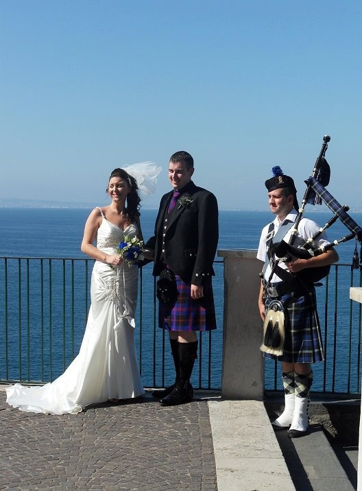 Piper for your #wedding in #Italy www.symbolicunionsitaly.com #Campania