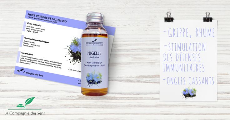 La Nigelle c'est une huile aux propriétés multiples qui est également très bonne pour les cheveux notamment pour lutter contre leur chute #nigelle #HV #chutedecheveux