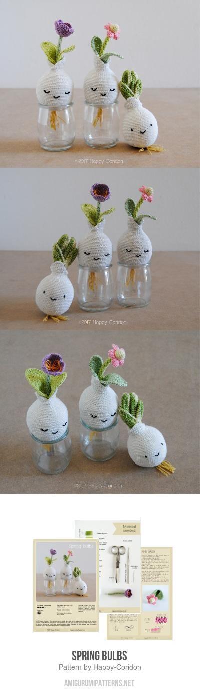 Spring Bulbs Amigurumi Pattern