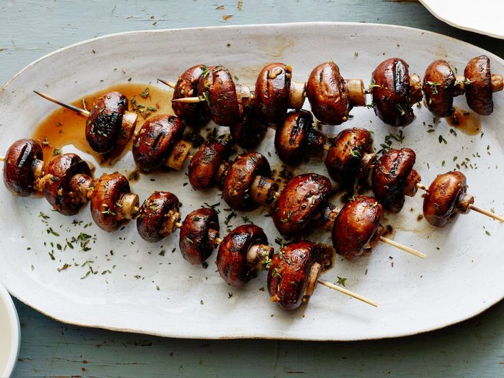 Get this all-star, easy-to-follow Grilled Mushroom Skewers recipe from Food Network Kitchen