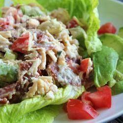 Insalata di pollo BLT (pancetta, lattuga e pomodoro) @ allrecipes.it