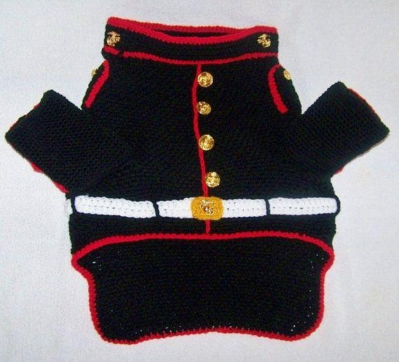 Cette liste si pour une poitrine très grand taille 38- 40 D'autres tailles sont trouvés ici https://www.etsy.com/listing/472524497/marine-corps-mascot-costume-usmc-marine?ref=listings_manager_grid https://www.etsy.com/listing/459036654/usmc-dog-sweater-marine-corps-pet?ref=listings_manager_grid https://www.etsy.com/listing/233319255/marine-corps-marine-dog-uniform-marine?ref=listings_manager_grid USMC bouledogue uniforme, ce costume marin de chien est au-delà de mignon. Ce petit United…