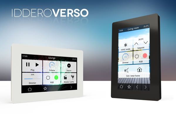 Iddero Introduces New Iddero Verso 4.3-Inch Touch Panel at Light + Building 2016